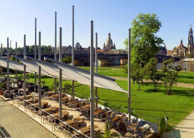 The Westin Bellevue Dresden - Biergarten Elbsegler