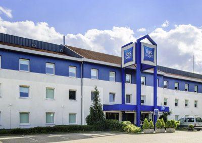 Aussenansicht ibis budget Hotel Dresden Kesselsdorf