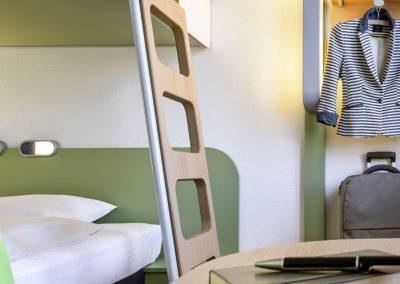 Standardzimmer ibis budget Hotel Dresden Kesselsdorf