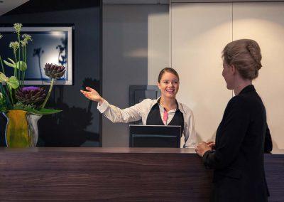Mercure Hotel Amsterdam Airport reception
