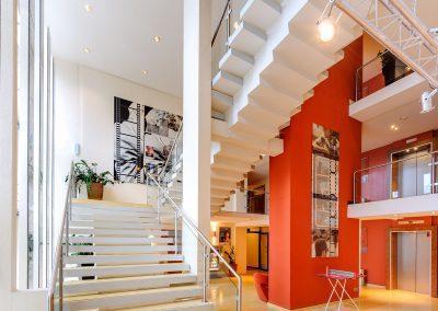 Mercure Hotel Stuttgart Sindelfingen Messe Lobby Treppenaufgang