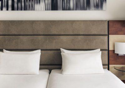 Mercure Hotel Amsterdam Airport twin bedroom