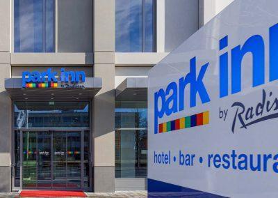 Park Inn Neumarkt Außenansicht