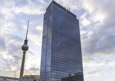 Aussenansicht Park Inn by Radisson Hotel Berlin Alexanderplatz