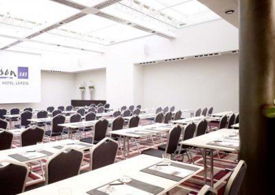 Radisson Blu Hotel Leipzig Konferenz Saal