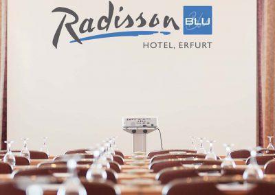 Radisson Blu Erfurt Konferenzraum