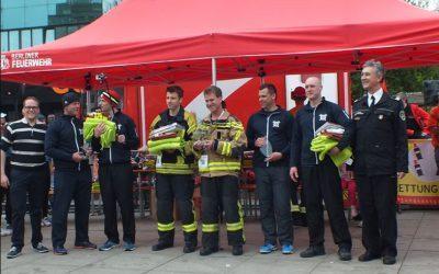 7. Berliner Firefighter Stairrun im Park Inn Berlin Alexanderplatz