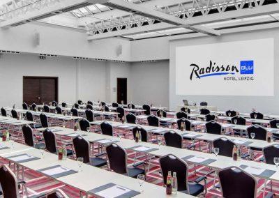 Meeting Room Saturn Radisson Blu Hotel Leipzig