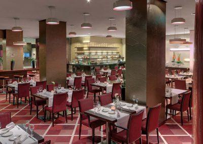 Restaurant Spagos Radisson Blu Hotel Leipzig