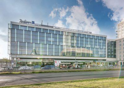 Radisson Blu Leipzig Aussenansicht