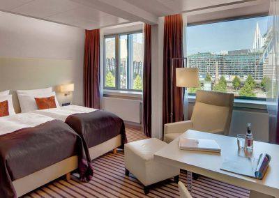 Superior Zimmer Radisson Blu Hotel Leipzig