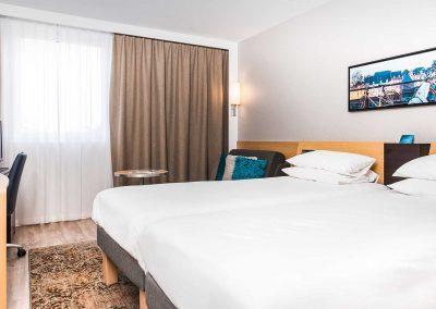Novotel Hotel Maastricht - Hotelkamer Twin blauw