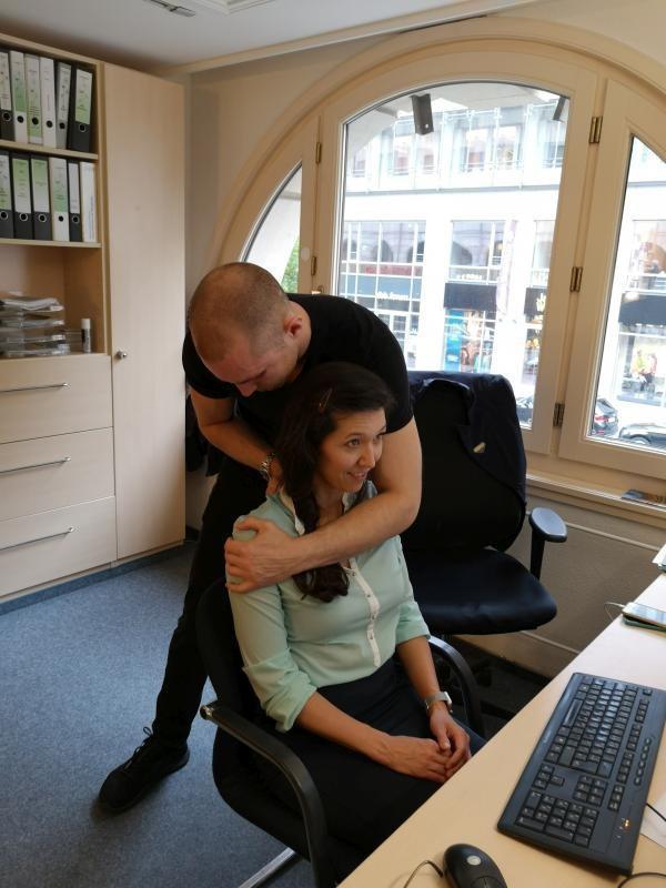 Australische Massage zur Associate Appreciation Week im Westin Grand Berlin