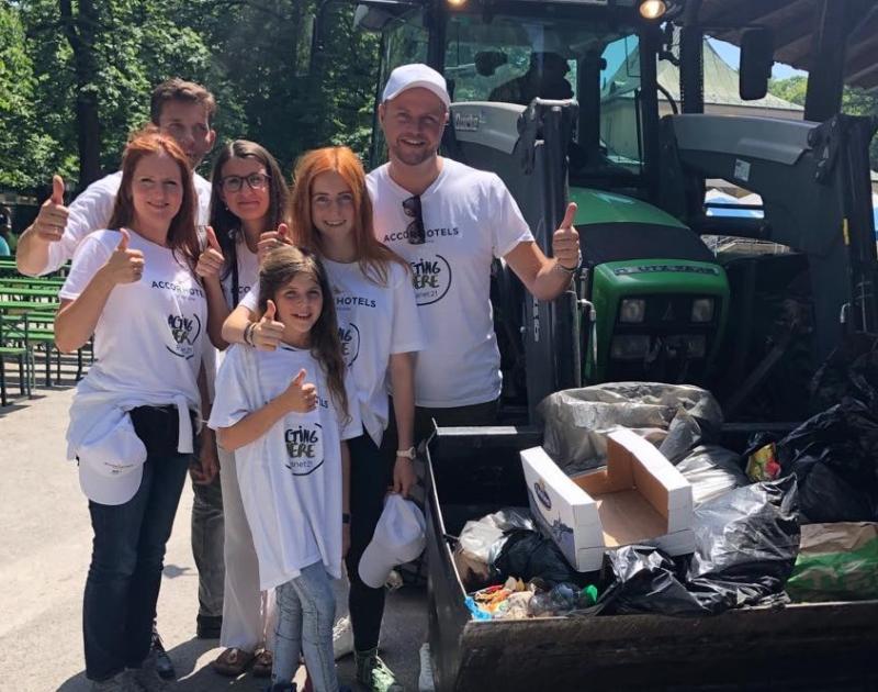Pullman Hotel München Planet 21 Cleanup Team